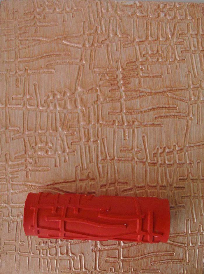 Валики для декоративную штукатурку своими руками